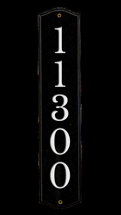 Custom vertical wall plaque